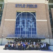 Fayetteville ISD High Schoolers In of Front Kyle Field