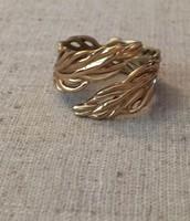 Leaf Ring - adjustable size