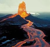 Date of muana volcano