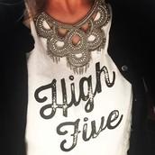 Tallulah Statement Bib Necklace - SOLD