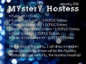 Mystery Hostess Party, Going on Now!