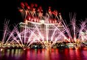 אלו החגיגות בלאס וגאס לקראת השנה החדשה.