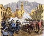 Boston Massacre march 5,1770