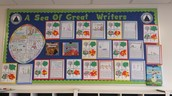 Season Trees and Writing!