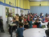 Huge thank you to all those that made the Cake Dance and Scholastic Book Fair Parents Night a HUGE siuccess