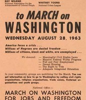 This flyer was distrubuted throught the country in order to get people involved.