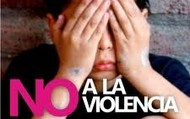¡ALTO NO MAS VIOLENCIA!