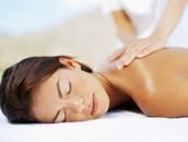 Masaje de cuello y espalda, duración 30 min.