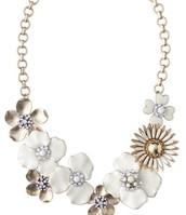 Dot Bloom Necklace - $90