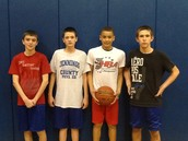 Hoops for Heart Champs 7th Grade