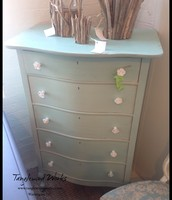 $265 - Blue Milk Paint Dresser
