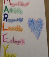Marley - 2nd grade
