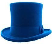 El sombrero azul