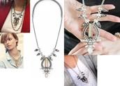 Eclipse Pendant Necklace Reg $79 - 25% sale $59
