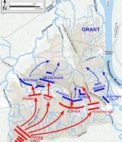 Battle of Shiloh Map