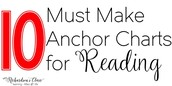 10 Must Make Anchor Charts for Reading!