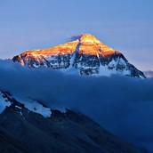 Mount Everest Sunset