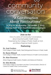 Community Conversation:  Vaccinations