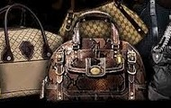 Designer bags such as Coach, Nine West, Kenneth Cole, Guess and more