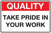 Pride in Your Work