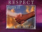 Word of the Week - RESPECT