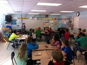 Jenny Berg in Mr. Baumann's Class