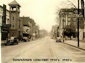 Downtown Concord