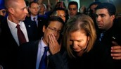 Isaac Herzog and Tzipi Livni of the Zionist Union.