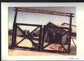 Entrance to Omarska Concentration Camp
