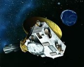 NASA probe in space