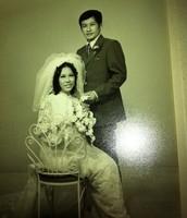 That's my grandparent's wedding photo <3