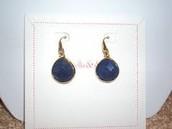 Serenity Drop Earrings - Lapis
