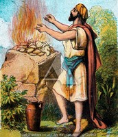 Gideon and the bread