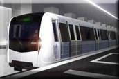 Submay Train of Romania