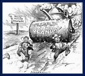 Political Cartoon: Reguarding Teapot Dome Scandal