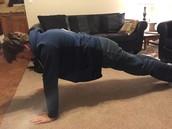 Transition pose(plank)