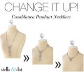 Casablanca Pendant Necklace £85
