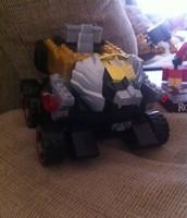 Lego lion truk