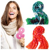 You can never have too many scarves!