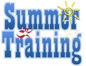 Phase 2 Summer Training