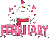 For the week of Monday, February 8th  to Friday, February 12th
