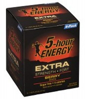 5-hour Energy Extra Strength - Grape