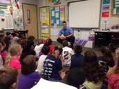 More 3rd Grade fun with Firefighter Cade Wilson from station 3