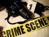taking photos of crime scenes