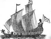 La Salle's ship