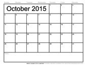 October's Media Schedule