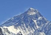 Mount Everest 珠穆朗玛 Zhūmùlǎngmǎ
