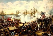 Shermans men destorys ports