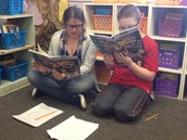 Nonfiction partner reading!