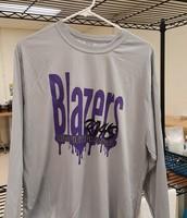 Blazers  Long Sleeve Tee